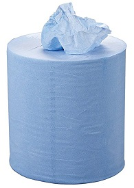 2 Ply Blue Centrefeed Roll - 150m x 178mm - Pack of 6