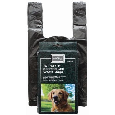 Dog Waste Bags (72 in a box)  Pack of 6 boxes
