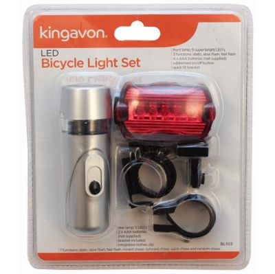 2Pc 10LED Bike Light Set - April 2017