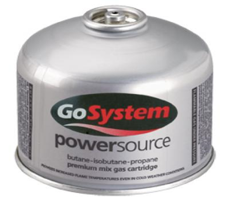 Go System 220g Gas Cartridge -