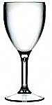 Polycarbonate wine glass. 255ml - Pack of 6