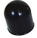 50mm towball cover, black, plastic.