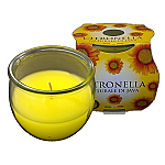 Citronella Medium Jar Candle (Box 24)