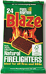 BBQ Lighting Blocks & Firelighters - Single Pack of 24 blocks
