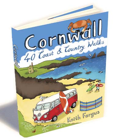 Cornwall Coast & Country Walking Book - Display Unit of 12
