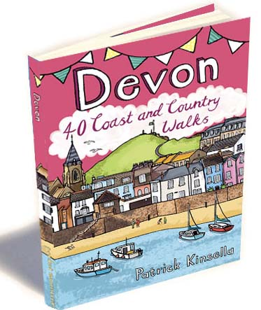 Devon Coast & Camping walking Book - Display Box 12