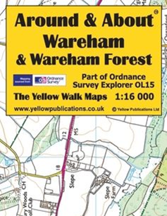 Yellow Maps Around and About - Choose From List