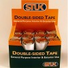 Double sided tape - white CDU of 24