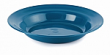 22cm Deep Polythene Plate - Green x 6 Discontinued Line