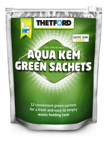 Aquakem Green Sachets - Box of 12