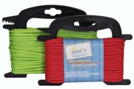 Camping Line + Winder ( Red & Green)