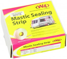 19mm White Mastic Sealing Strip - Box of 10