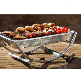 Asado Dual Size  BBQ Stand with Instant BBQ CDU of 12