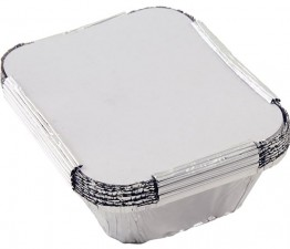 Foil Food Containers - Pack of 10