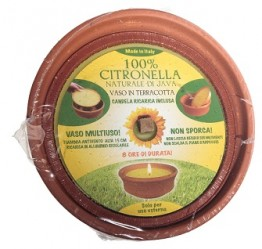 Citronella Large Terracotta Pot