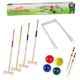 Wooden Large Croquet Set