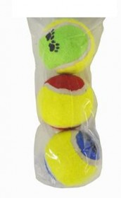 Pet Quality Tennis Balls (PK3) x12