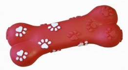 Dog Squeaky Bone Toy  x 12