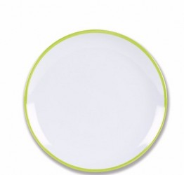 Melamine Side Plates CDU of 24 Citrus Green