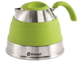 Outwell Collapsible Kettle 1.5 Litre  Lime Green