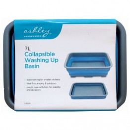 Collapsible Washing Up Basin - Blue see LG & WG