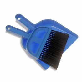 Flat Brush & Dustpan Set