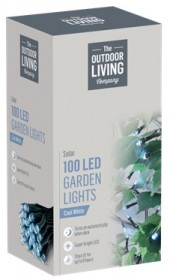 100 LED Solar Garden Lights