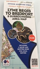 Lyme Regis to Bridport Nature Map