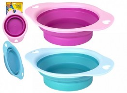 Collapsible Plastic Pet Bowl 19cm