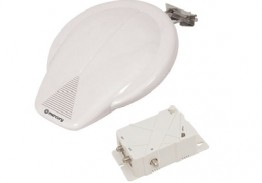 Outdoor Amplified TV Aerial for caravan or Boat