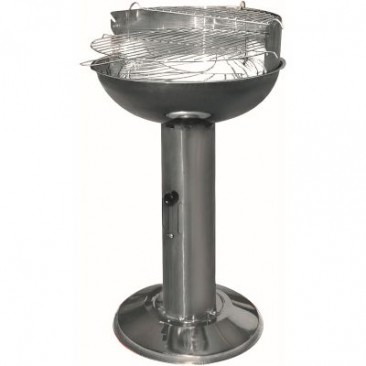 Stainless Steel Pedestal BBQ Last one