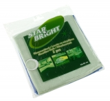 Pack 2 High Quality Microfibre Cloths