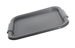White Rectangular Tray