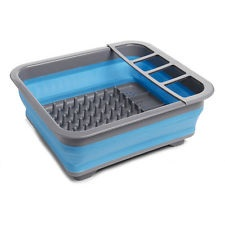Collapsible Dish Drainer - Blue