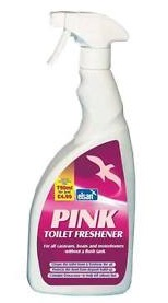 Elsan Pink Toilet Freshner 750ml Spray