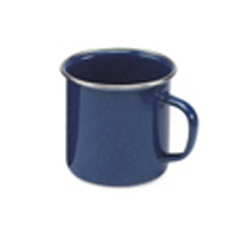 Enamel Mug (360ml) with stainless steel rim x 6