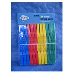Plastic Clothes Pegs x 24