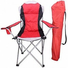 Deluxe Padded Camping Chair with High Back - June 21