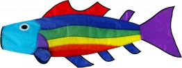 Rainbow Fish Windsock 40""