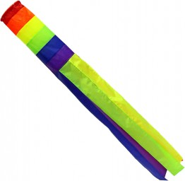 Rainbow Windsock 68""