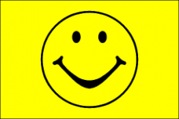 Happy Face Flag