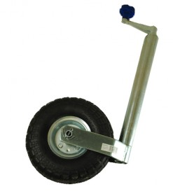 48mm Jockey Wheel + Pneumatic Tyre
