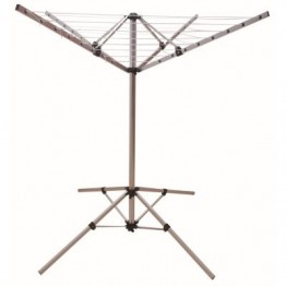 Lightweight  4 Arm Rotary Airer - Fold down