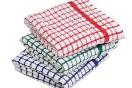 Tea Towel Pack of 2 -  Assorted Colours