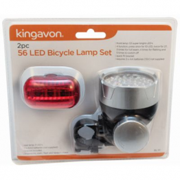 2Pc Bicycle Lamp Set