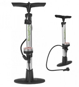 Cycle Track Pump & Gauge