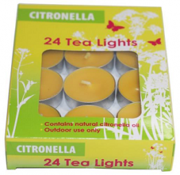 Citronella Tea Lights Pack of 24