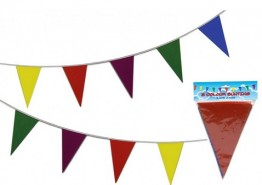 Triangular Flag Bunting - 10m  in CDU of 24
