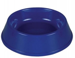 Plastic Pet Bowl Assorted Colours 9""