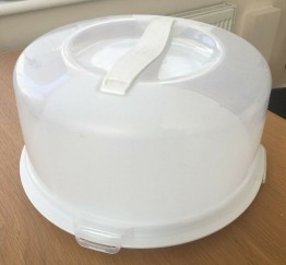 Round Cake Box With Lid